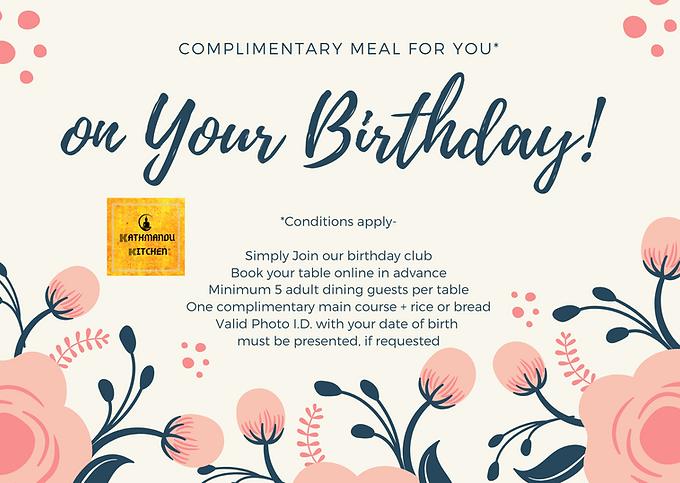 Birthday Club Kathmandu Kitchen Altrinch