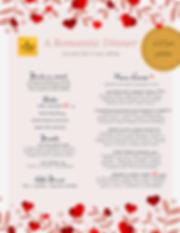 Valentine's Day Menu 2020 Kathmandu Kitc