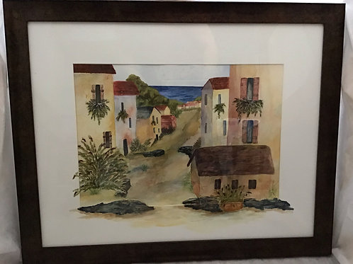 Tuscan Street, by Patricia Munsell