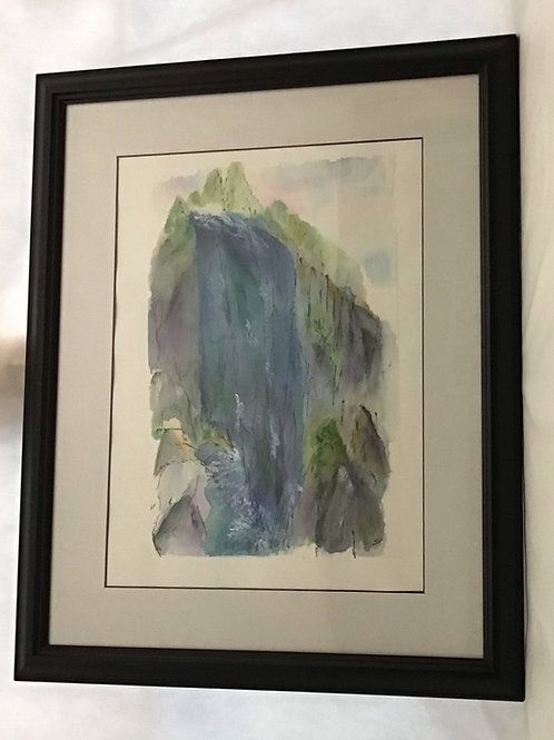 Waterfall, by Patricia Munsell