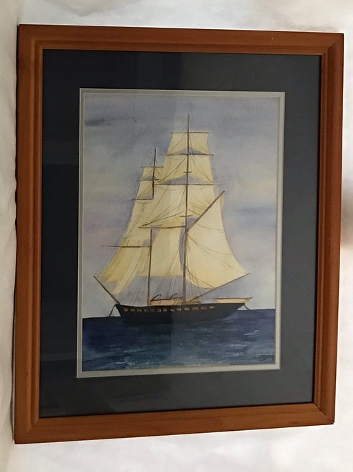 Tall Ship, by Patricia Munsell