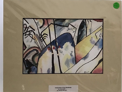 Composition IV, by Patricia Munsell