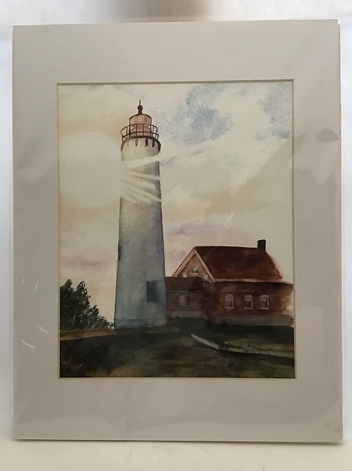 Tawas Lighthouse, by Patricia Munsell