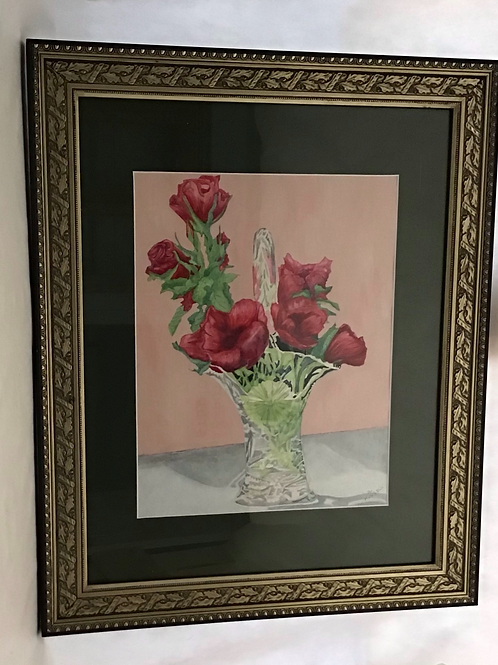 Roses, by Patricia Munsell