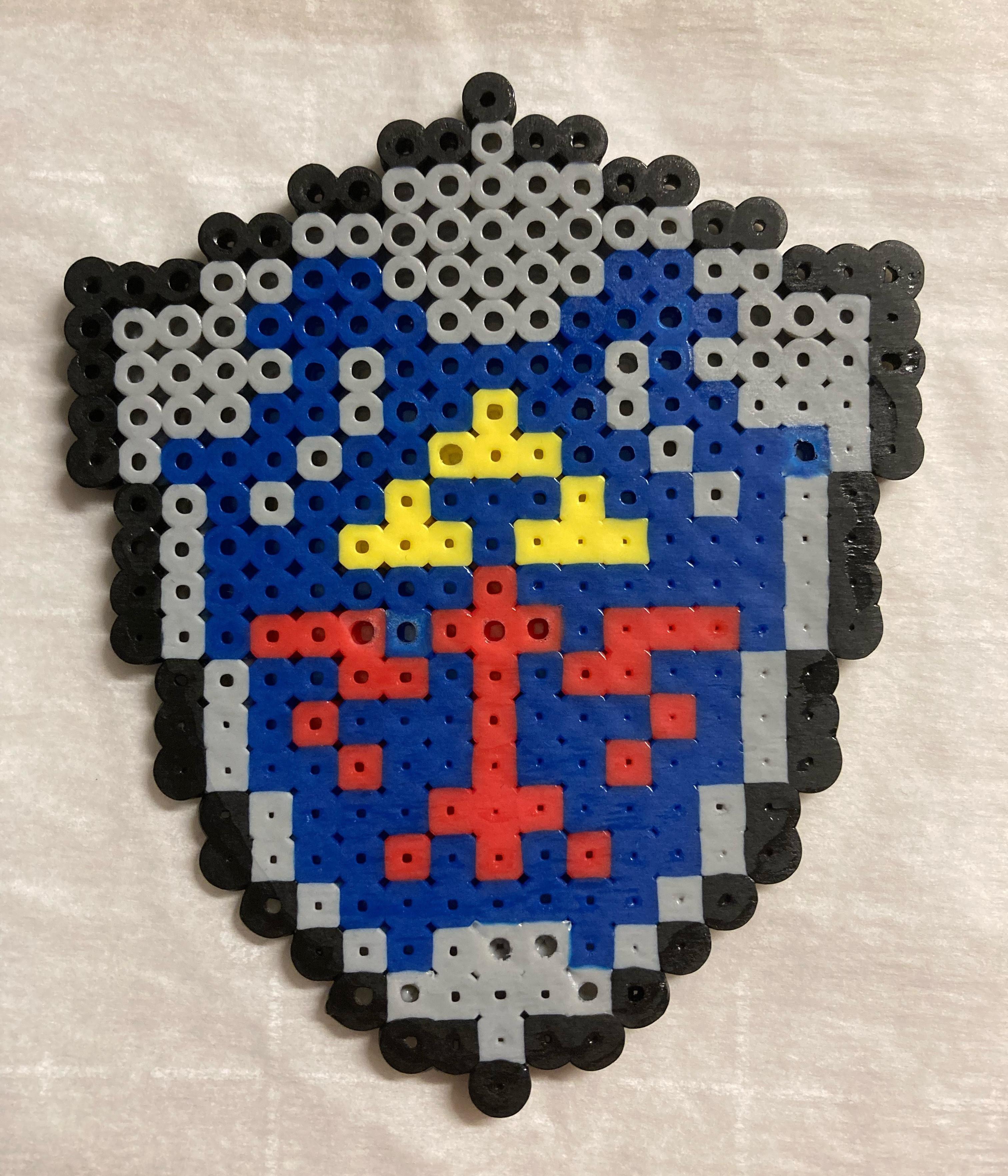 Pixel Art with Perler Beads