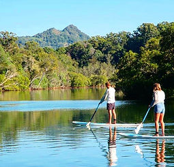 Byron Stand Up Paddle SUP in Paradise