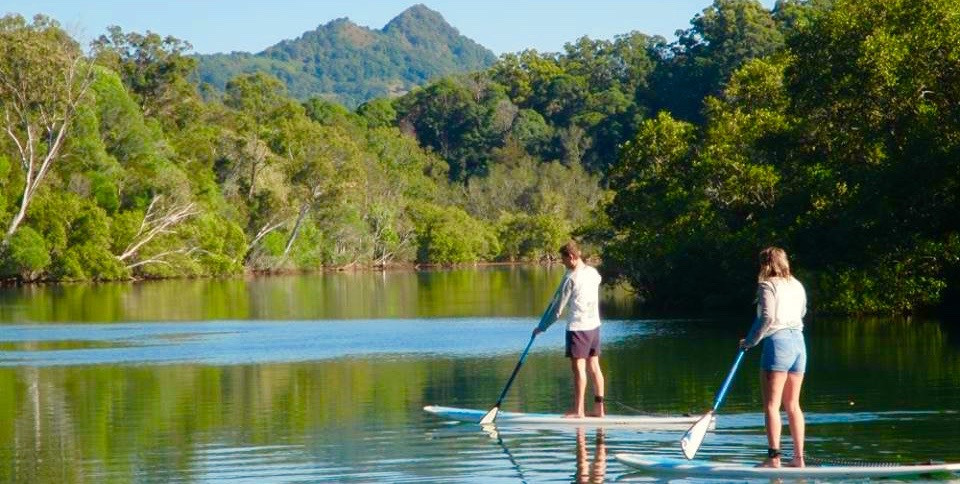 Byron Stand Up Paddle Nature Tour reflections