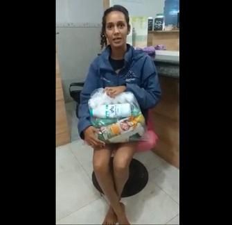 Ajuda à famílias do Terreirão/Campo Grande, com cestas básicas