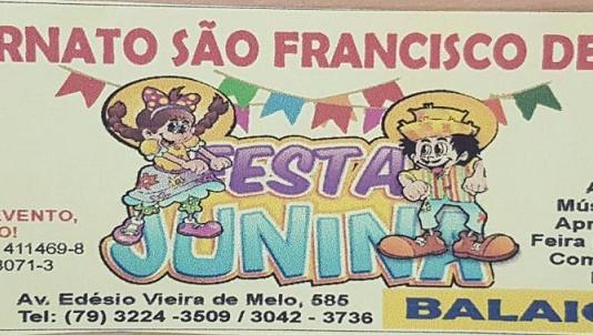 Festa Junina no ESFA...! Próximo dia 17 de junho as 15h. Participe e colabore com alguma doação. Des