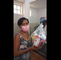 Ajuda a famílias em Campo Grande