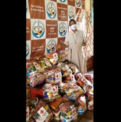 Ajuda em parceria com Cruz Vermelha Sergipe
