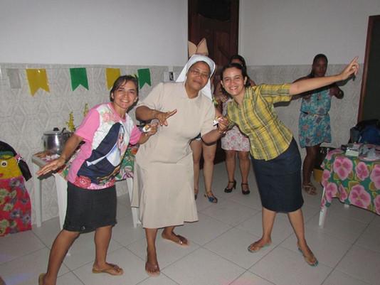 Chegada da Irmã Mabel ao ESFA