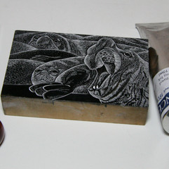 tool, block and printing ink