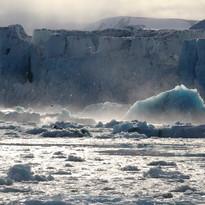 ice wall, Svalbard