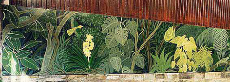 Chester Zoo Tropical House Mural