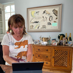 Lorraine Kelly's seachart