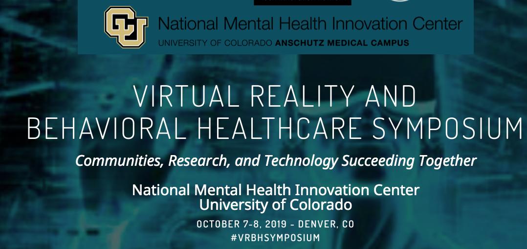 VR & Behavioral Healthcare Symposiu