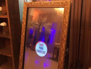 Espelho Mágico ou Cabine de Fotos