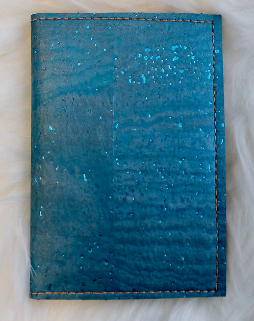The Card Wallet - Blue Shimmer