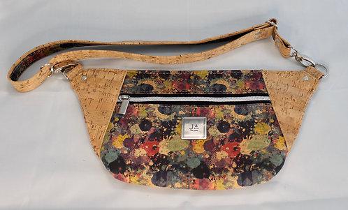 Hip/Sling Bag -Multi-colour & Natural