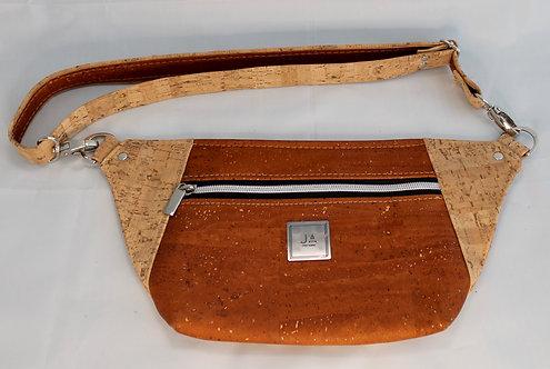 Hip/Sling Bag - Cinnamon & Natural