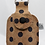 Thumbnail: Essential Hand Sanitizer Caddy - Natural with Navy Polka Dots
