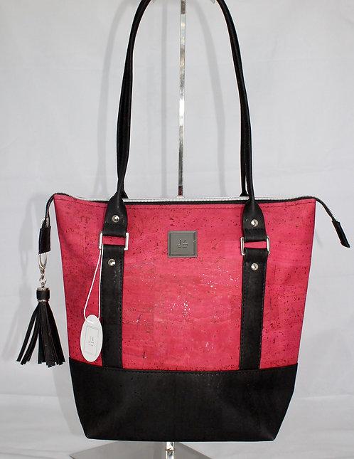 Shoulder Bag - Pink & Black