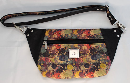 Hip/Sling Bag - Multi-Colour & Black
