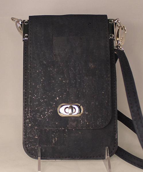 Cell Phone Cross Body Handbag -Navy