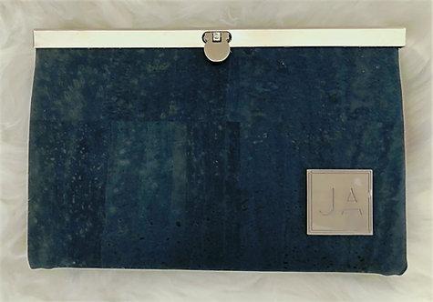 Navy Clutch Wallet