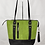 Thumbnail: Shoulder Bag - Green Apple & Black