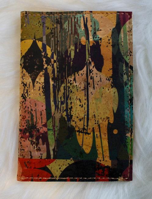 The Card Wallet -Multi-Colour Splash