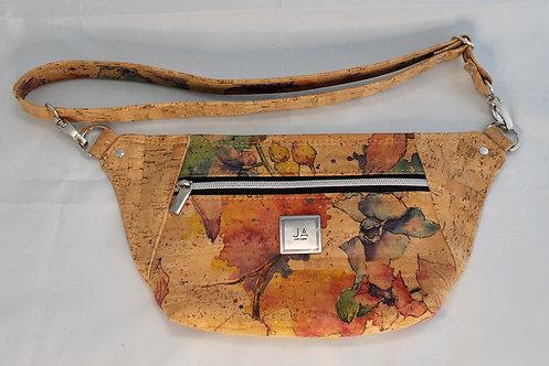 Hip/Sling Bag - Natural Watercolour Floral & Natural