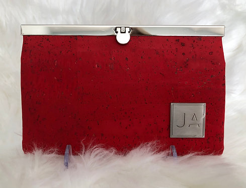 Red Clutch Wallet