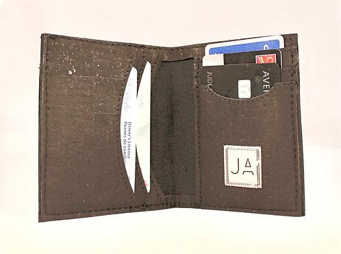 Men's Bi-fold Wallet - Black