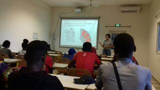 Intervention d'une étudiante de l'IEP de Paris