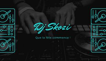 Carte visite DJ