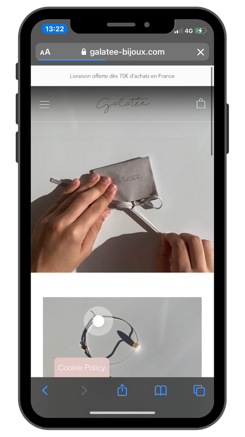 Création site Internet Luberon - Galatée Bijoux - Doniworld.png.png