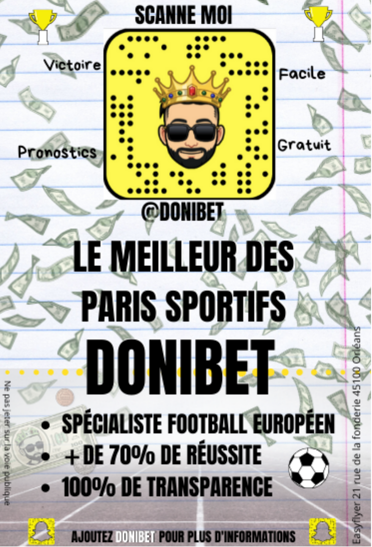 Flyers Donibet paris sportifs