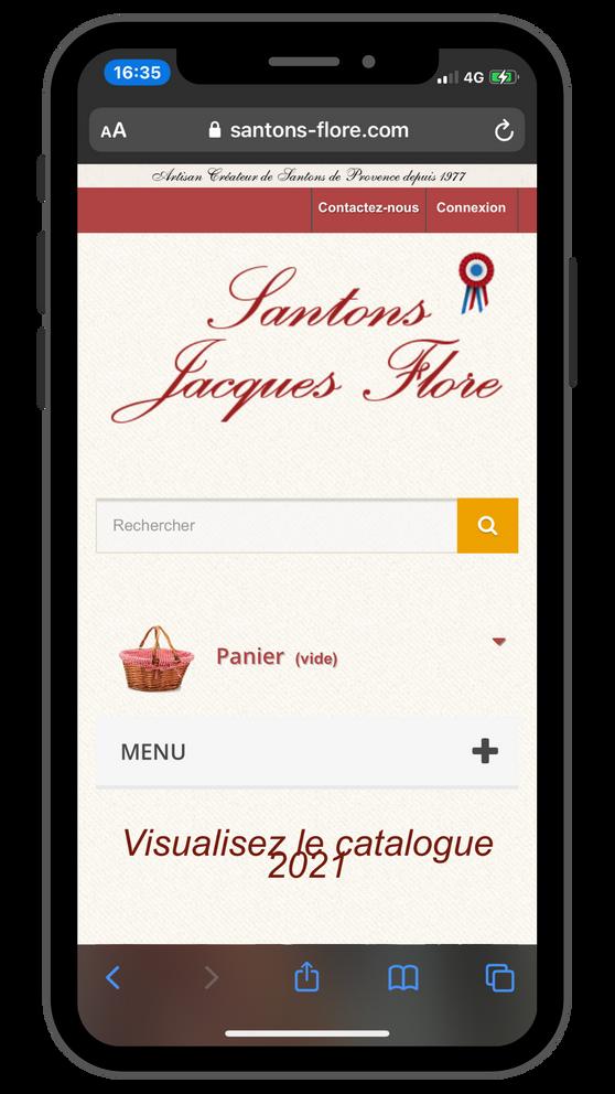 Création site Internet Luberon Vaucluse - Référencement Santons Flore.png