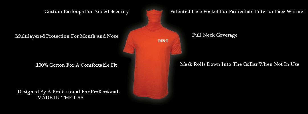 mask shirt dus-t shirt