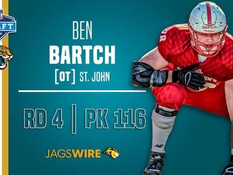 Jaguars' OL Ben Bartch Quotes 4.25.20