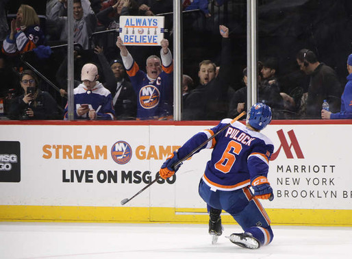 Isles Hot Seat: Player Report Card: Ryan Pulock