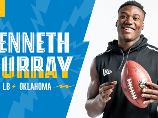 Chargers' LB Kenneth Murray Quotes 4.24.20