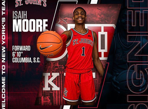 Getting to Know St. John's Recruit Isaih Moore