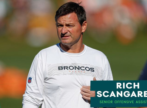 Eagles' Senior Offensive Assistant Rich Scangarello Quotes 8.25.20