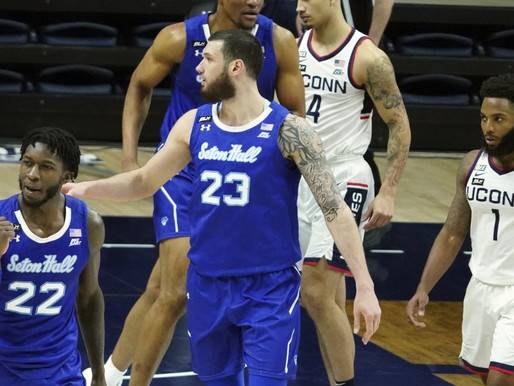 Pirates earn first win at UConn since 1997