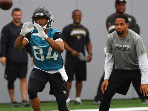 Jaguars' WR Coach Keenan McCardell Quotes 8.16.20