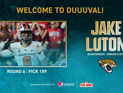 Jaguars' QB Jake Luton Quotes 4.25.20