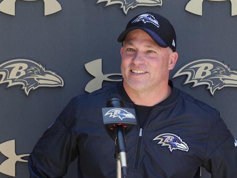 Ravens' QB Coach James Urban Quotes 8.22.20